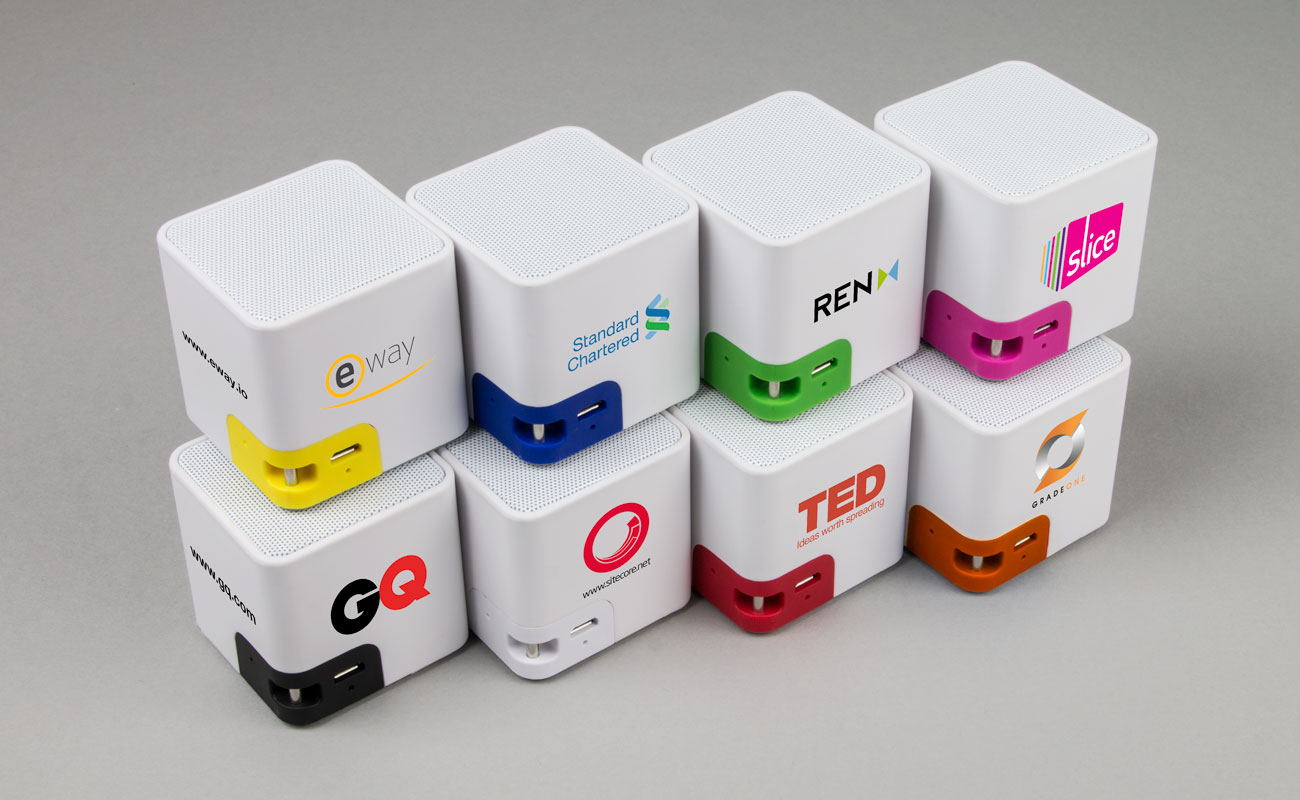 Cube - Głośniki Reklamowe