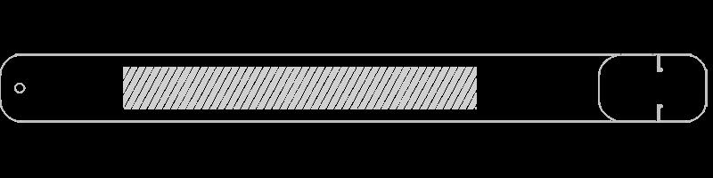 Opaska USB na nadgarstek Drukowanie sitowe