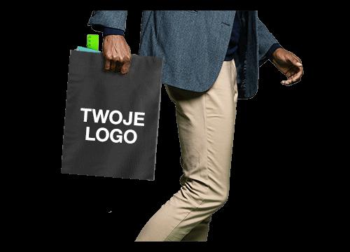 Compact - Torba Tote Bag z nadrukiem