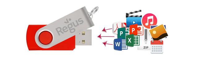 Flash Drive Wgranie danych