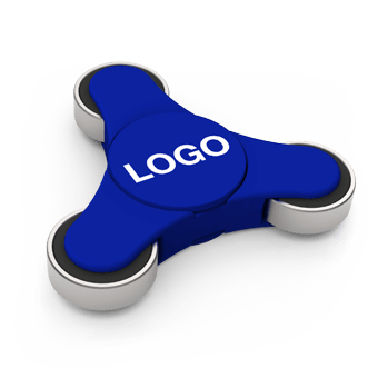 Flow - Fidget Spinner z Nadrukiem Logo