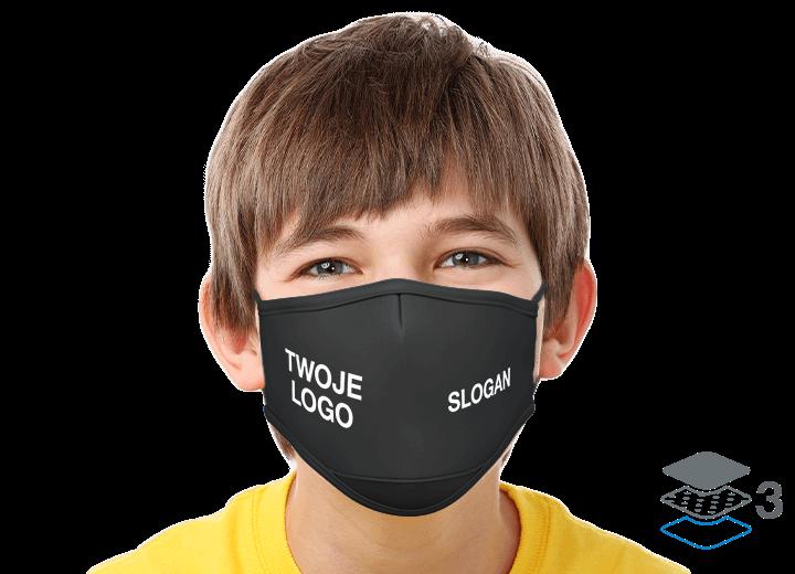 Junior - Maski na twarz z logo