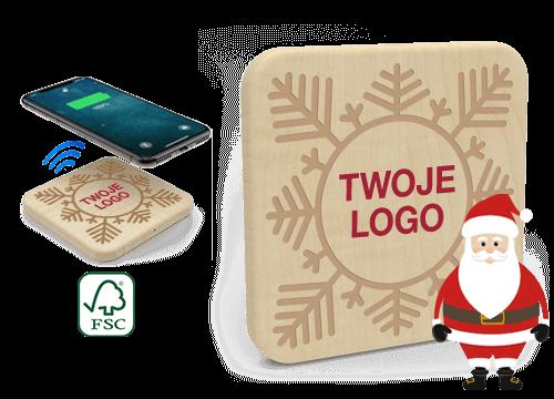 Forest Christmas - Bezprzewodowa ładowarka hurt