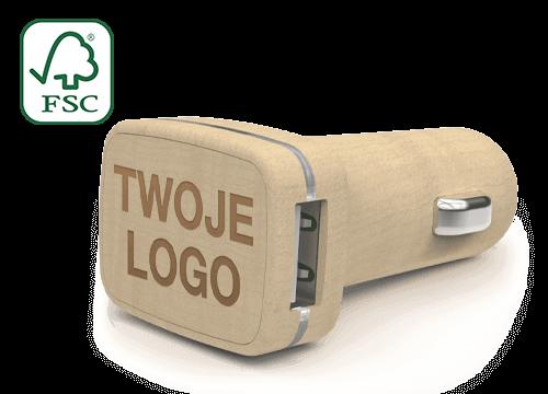 Woodie - Spersonalizowane ładowarki samochodowe USB