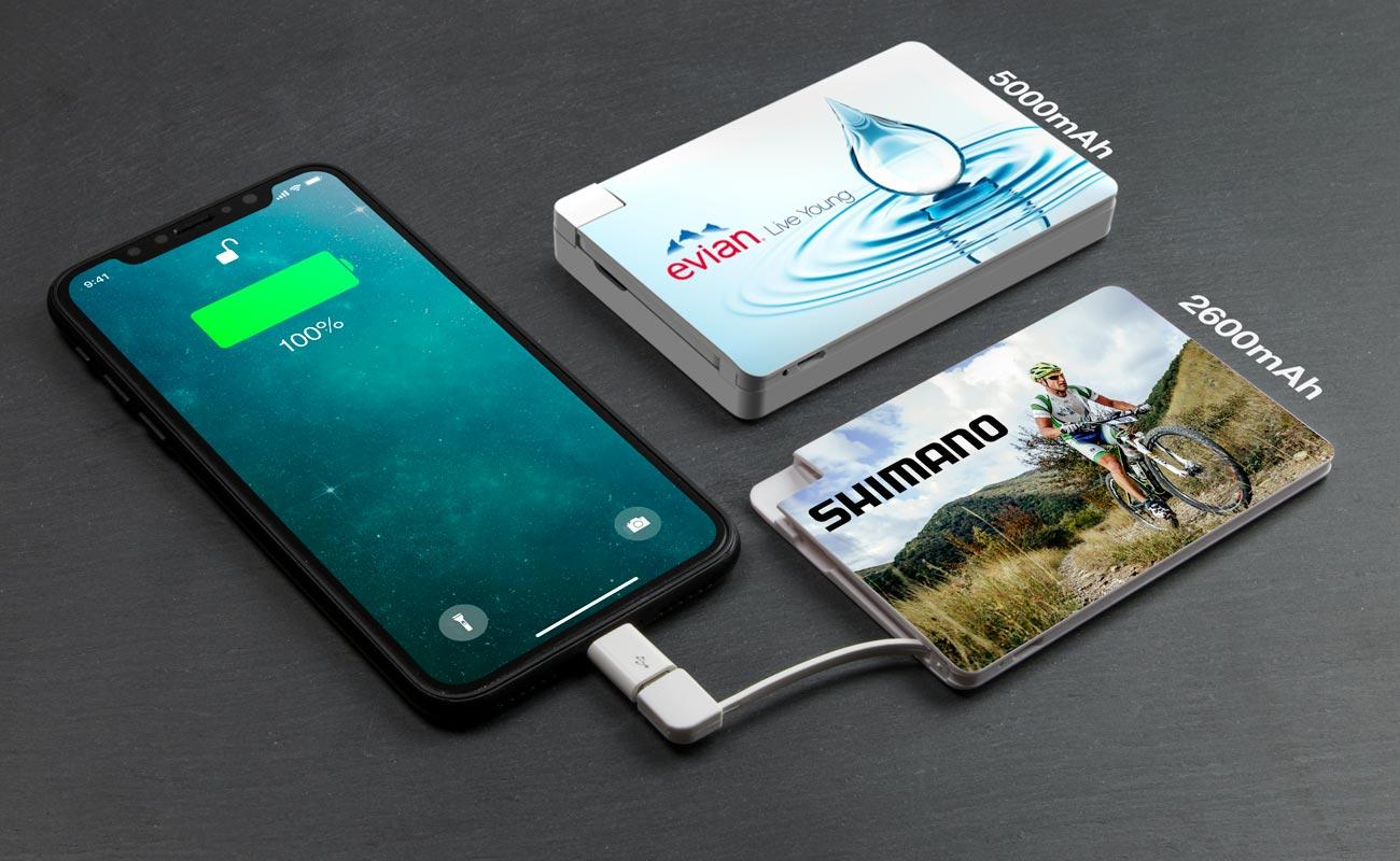 Card - Powerbank z Nadrukiem