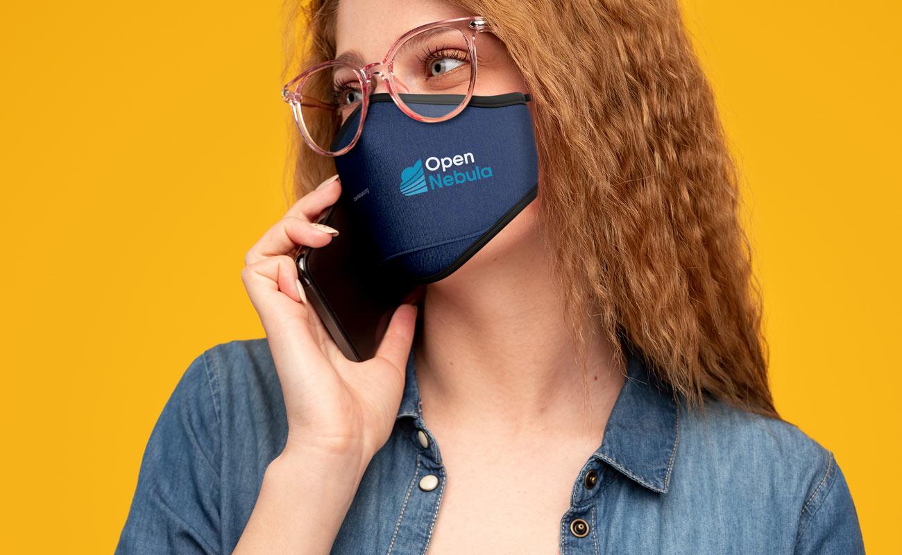 Denim - Znakowane maski na twarz