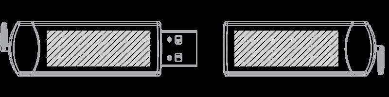 Pamięć USB Drukowanie sitowe
