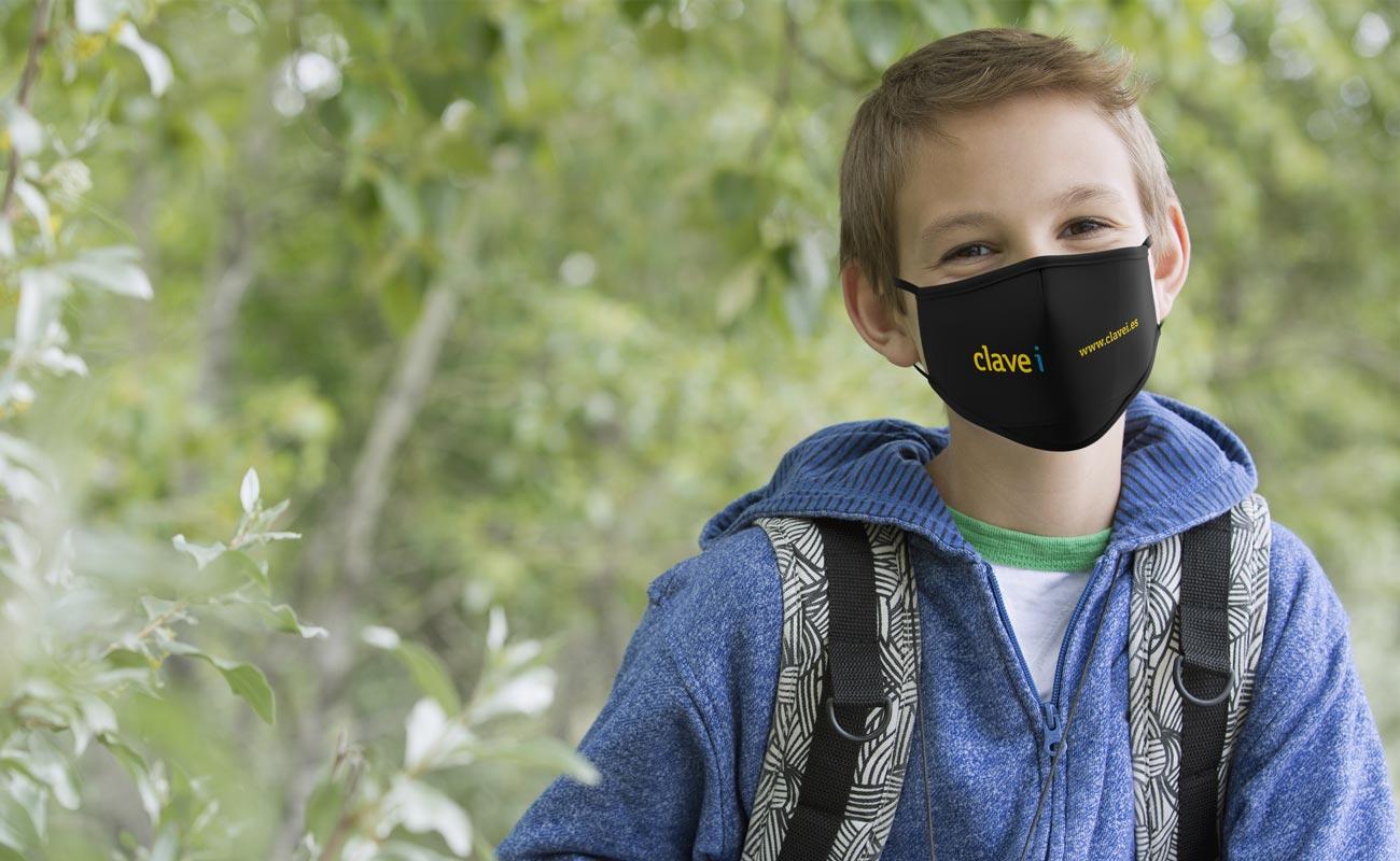 Junior - Znakowane maski na twarz