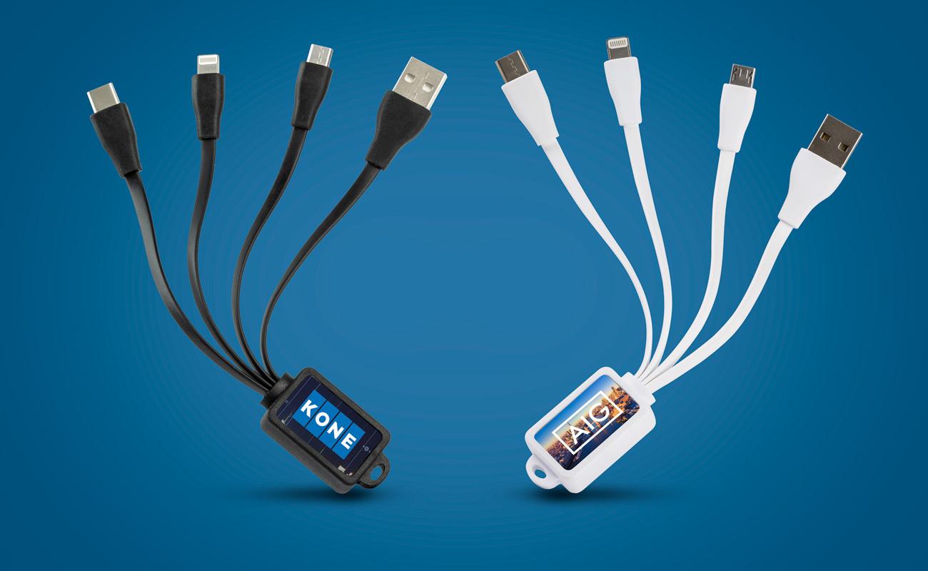 Multi - Kabel USB z Nadrukiem