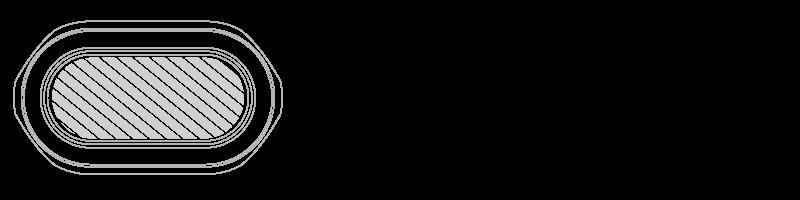 Organizer do kabli Drukowanie sitowe