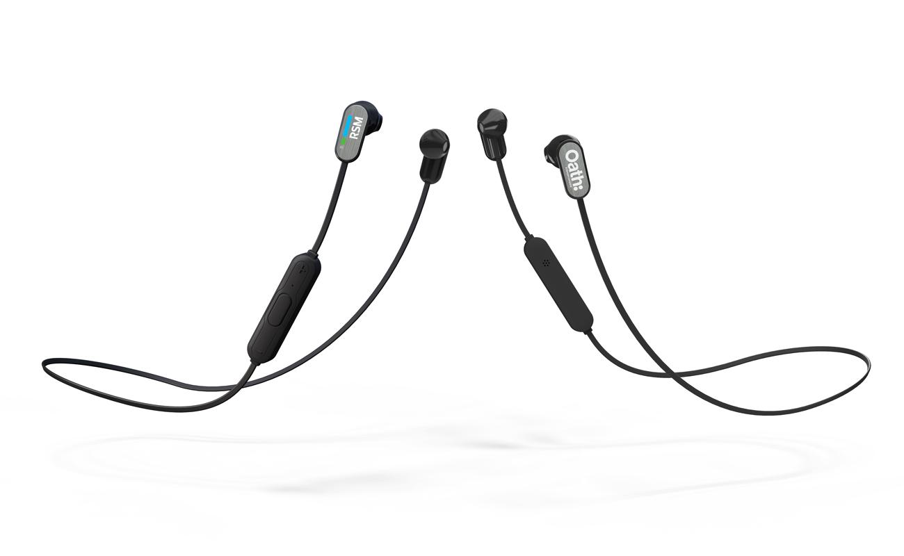 Peak - Spersonalizowane bezprzewodowe słuchawki douszne