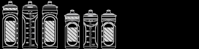 Butelka na wodę Drukowanie sitowe